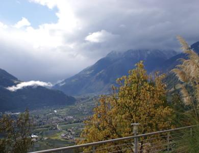 Wolkenspiel im Herbst
